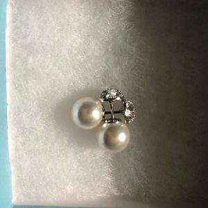 Touchstone Crystal Pearl Earrings